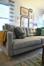 Karlstad Sofa Legs Uk by Karlstad Transformed Ikea Sofa Upgrade Yes Please Home Ideas