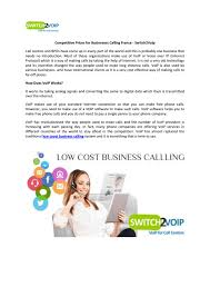 Low Coast Business Calling France By Switch2Voip - Issuu What Is Voip Infographic By Comparebestvoip New Page 2 Vonage Vs Magicjack Top10voiplist Best 25 Voip Phone Service Ideas On Pinterest Hosted Voip Glc130p Indoor Multiservice Gateway User Manual Lteairmaster4000m 3 Cheap Business Phone Services That Will Save You Money On Telemarketing Guide Selling Voice Over Ip To Mobilevoip Intertional Calls Android Apps Google Play Mondotalk Service Provider