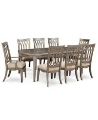 Kelly Ripa Home Hayley 9 Pc Dining Set Table 6 Side Chairs 2 Arm