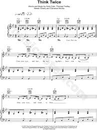 sinking piano easy groove armada think sheet in bb major transposable