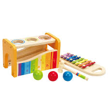 Hape Kitchen Set Canada by Hape Kid U0027s Wooden Toy Ukulele In Red Drums U0026 Percussion Amazon