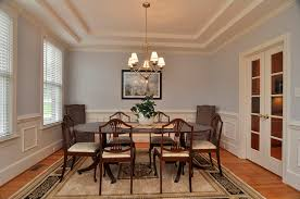Ambassador dining room types of tray ceilings double tray ceiling