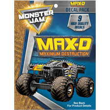 Max-D Truck Decal Pack - Monster Jam Stickers | Decalcomania Maximum Destruction Monster Truck Toy Hot Wheels Monster Jam Toy Axial 110 Smt10 Maxd Jam 4wd Rtr Towerhobbiescom Rc W Crush Sound Ramp Fun Revell Maxd Snaptite Build Play Hot Wheels Monster Max D Yellow Diecast Julians Hot Wheels Blog Amazoncom 2017 124 Birthday Party Obstacle Course Games Tire Cake Image Maxd 2016 Yellowjpg Trucks Wiki Fandom Powered Team Meents Classic Youtube Gold Vehicle Toys Games