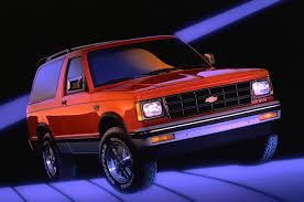 Article | Chevrolet Blazer Photos And History: From Truck-Based SUV ...