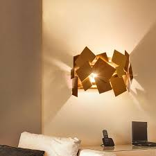 modern popular design stainless steel gold bedroom wall l hotel