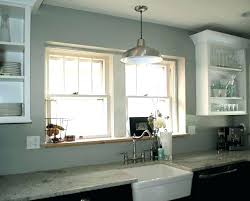 pendant light kitchen sink height hanging lights above how to