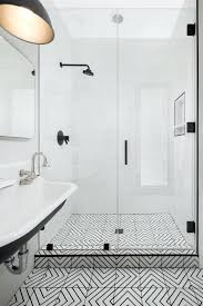 black white bathroom floor tile soloapp me