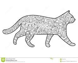 Royalty Free Vector Download Cat Coloring Book