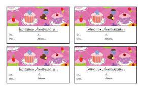 carte invitation anniversaire gratuite  imprimer 9 ans