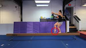 Usag Level 3 Floor Routine Tutorial by Level 3 Usa Gymnastics Beam Routine For Righties 2013 2021 Old
