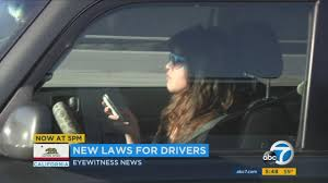 New 2017 Driving Laws In California | Abc7news.com