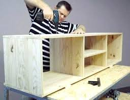 Diy Tv Stand Crates Wood Plans Marvelous For Building A Guide Unbelievable Best Ideas On Restoring Furniture Home Design