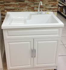 Utility Sink With Drainboard Freestanding by Functional Laundry Sink Corstone Self Rimming At Lowes For 145
