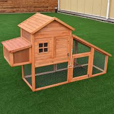 Costway 75'' Large Deluxe Wooden Chicken Coop Backyard Nest Box ... Backyard Chicken Coop Size Blueprints Salmonella Lawrahetcom Unique Kit Architecturenice Backyards Wonderful 32 Stupendous How To Build A Modern Farmer Kits Small 1 Coops Tractors Amazoncom Trixie Pet Products With View 72 X Formex Snap Lock Large Hen Plastic Kitsegg Incubator Reviews Easy Way To With And Runs Interior Chicken Coop Garden Plans 7 Here A Tavern Style