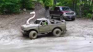 Transform Your Ford Bronco Mud Truck Into A Classy Swan Ride With A ...