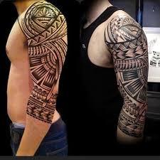 Hd Aztec Tribal Sleeve Tattoo