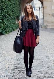 Wpid Skater Dress Winter Outfit 2016 2017 3 25