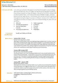 Resume Templates For Career Change Examples