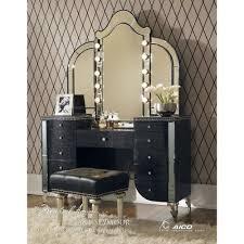 bedroom black vanity table for elegant furniture design seth