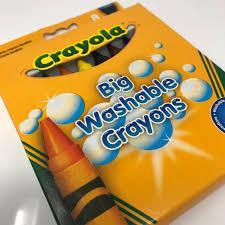 Crayola Bathtub Crayons 18 Vibrant Colors by Big Washable Crayons Crayola 8 Count Non Toxic Assorted Colors