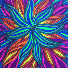 Combine Neon And Regular Markers Adult Coloring Book Tips