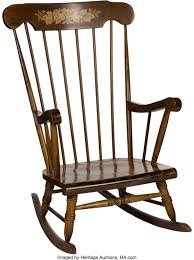 Early 1970's Bobby Murcer Rocking Chair Gifted From ...