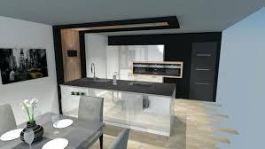 cuisine alu et bois cuisine moderne noir et bois beau cuisine alu et bois cop def