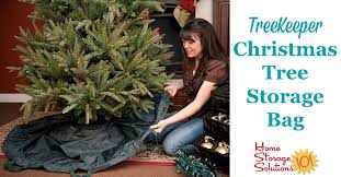 This TreeKeeper Artificial Christmas Tree Storage Bag Not Only Keeps Your Clean And Beautiful From