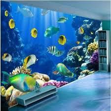 fototapete aquarium fisch wohnzimmer kaufen auf ricardo