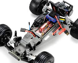 Traxxas Rustler VXL Brushless 1/10 RTR Stadium Truck W/TQi 2.4GHz ... Traxxas Rustler 110 Rtr 2wd Electric Stadium Truck Rock N Roll W White Tra370541wht 370764rnrs Vxl Brushless Xl5 Battery And Nitro 25 With Tsm Blue Tra370541blue 4wd Scale Rc Car Wikipedia Traxxas Rustler Blue Brushed Tq 24