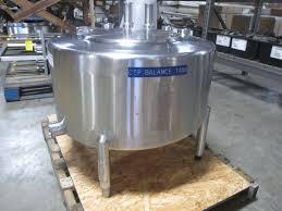 100 Atmos 35 AB Process CIP Balance Tank Model ATMOS Gallons SN 11164301