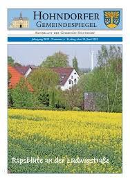 hohndorfer gemeindespiegel theodor fliedner stiftung