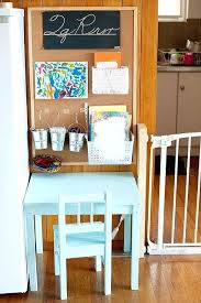 Toddler Art Desk And Chair by Childrens Drawing Table With Paper Roll Mdf Children Drawing Table