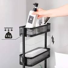schwarz bsc065b01 platzsparend badezimmerregal einfacher