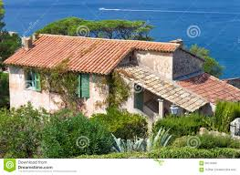 100 Rustic Villas Old French Villa By The Sea With Garden Stock Image Image