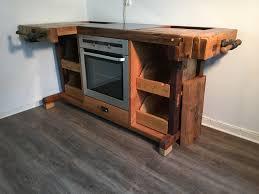 küche cook aus alter hobelbank s l loftart hobelbank