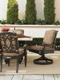 Hanamint Grand Tuscany Patio Furniture by Hanamint Grand Tuscany Cast Aluminum Swivel Rocking Dining Chair