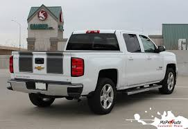 100 Chevy Decals For Trucks RALLY 1500 2014 2015 Silverado Vinyl Graphic Decal Rally