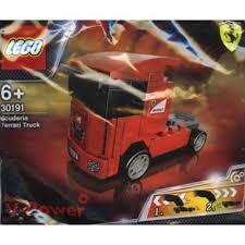100 Ferrari Truck Lego 30191 Scuderia Shopee Singapore