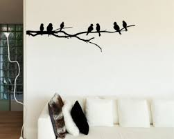 Bird Wall Art Branch With Birds Decal Vinyl Tree Stickers