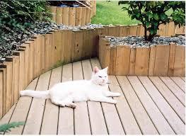 cats on deck garden decking photos gallery wooden landscapes images cat on deck