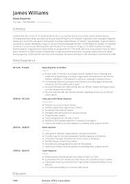 News Reporter - Resume Samples & Templates   VisualCV Journalist Resume Examples Sample Broadcast Essays Rsum Gabe Allanoff Video Journalist Resume Samples Velvet Jobs Awesome Sample Atclgrain What You Know About Realty Executives Mi Invoice And 1213 Sports Elaegalindocom Journalism Alzheimer S Diase Music Therapy Cover 23 Sowmplate 3 Mplate Ledgpaper Format For Experienced Valid Luxury Cover Letter For Entry Level Fresh