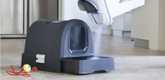 la maison de toilette pour chats curver