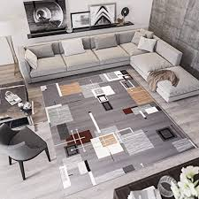 de tapiso laila teppich kurzflor modern grau weiß