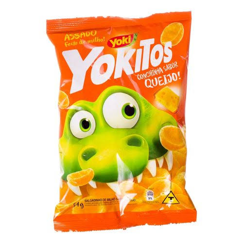 Yokitos Corn Chips Cheese Flavor Yoki - 54 Grams - Dutchy's Gourmet Sausages - Delivered by Mercato