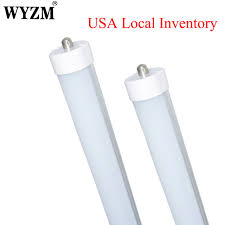 usa local shipping 4 pack led light 8ft t8 led fluorescent