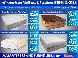 Mattresses – All American Mattress & Furniture