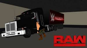 Braun Strowman Demolishes A TV Production Truck, RAW- WR3D - YouTube