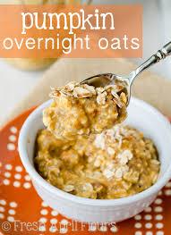 Pumpkin Pie Overnight Oats Healthy by Pumpkin Overnight Oats