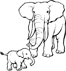 Cool Elephants Coloring Pages Best Book Downloads Design For You